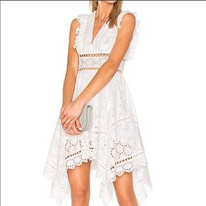 NWT Zimmermann White Divinity Wheel Day Dress